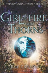 girl fire thorns