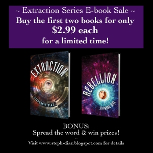 Extraction - Rebellion e-book promo